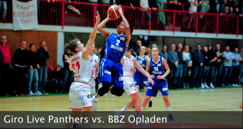 Giro Live Panthers vs. BBZ Opladen